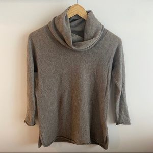 James Perse Cowl Cashmere Sweater